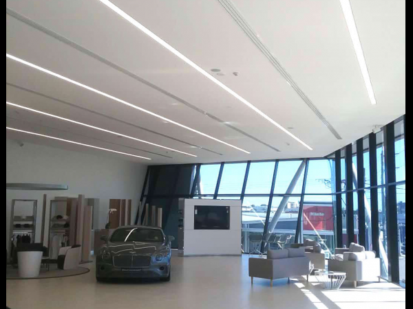 Bentley Showroom Australia