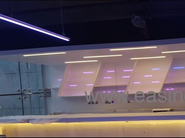 Rimless LED light in Dubai