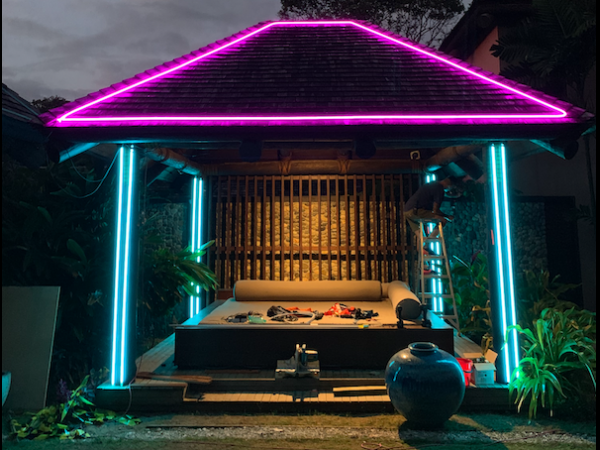 RGBW neon Project in Fiji