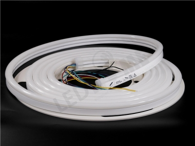 12X25mm 30 Meters RGBCCT Silicon Neon IP67  (Side view - Dome Head)