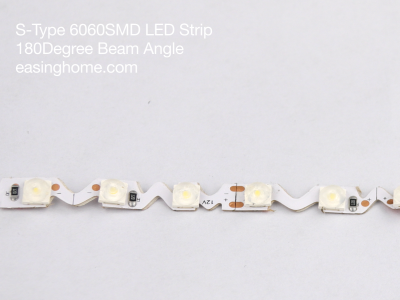 6060 S-Type LED Strip with Lens